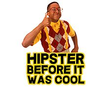 Steve Urkel - Hipster before it was cool Photographic Print