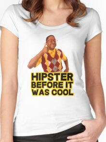 Steve Urkel - Hipster before it was cool Women's Fitted Scoop T-Shirt
