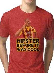 Steve Urkel - Hipster before it was cool Tri-blend T-Shirt
