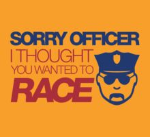 Sorry officer i thought you wanted to race (7) by PlanDesigner