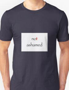 Christian Not Ashamed Unisex T-Shirt