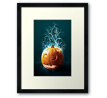 Magical Pumpkin Framed Print