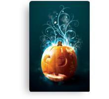 Magical Pumpkin Canvas Print