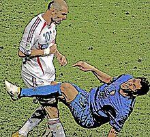 Zidane Vs. Materazzi by JoelCortez