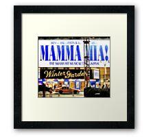"""Pixels Print """"MAMMA MIA"""" Framed Print"""