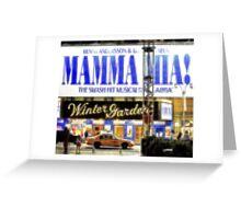 """Pixels Print """"MAMMA MIA"""" Greeting Card"""