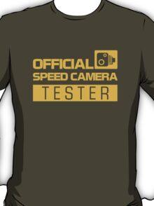OFFICIAL SPEED CAMERA TESTER (1) T-Shirt