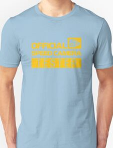 OFFICIAL SPEED CAMERA TESTER (1) Unisex T-Shirt