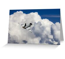 Typhoon Fighter  Greeting Card