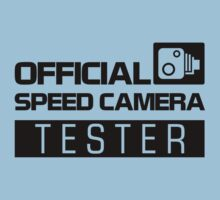 OFFICIAL SPEED CAMERA TESTER (2) Kids Tee