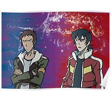 Lance and Keith Poster