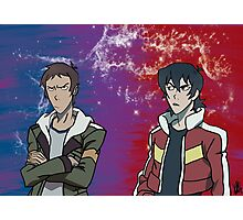 Lance and Keith Photographic Print