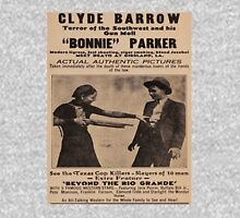 bonnie and clyde wanted poster Unisex T-Shirt