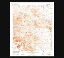 USGS TOPO Map Arizona AZ Kofa Butte 314729 1962 62500 Unisex T-Shirt