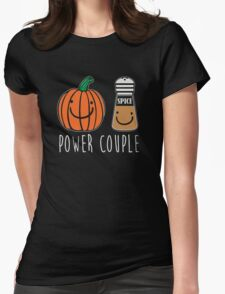 Power Couple Womens Fitted T-Shirt