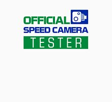 OFFICIAL SPEED CAMERA TESTER (4) Unisex T-Shirt
