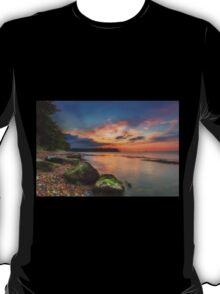 Fishbourne Beach Sunset T-Shirt