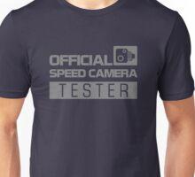 OFFICIAL SPEED CAMERA TESTER (5) Unisex T-Shirt