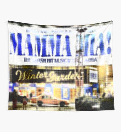 """Pixels Print """"MAMMA MIA"""" Wall Tapestry"""