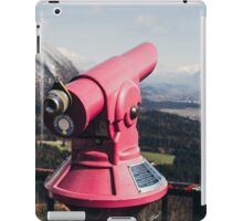 Pink Mountain Telescope iPad Case/Skin