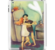 Wake up and Waltz&Coffee iPad Case/Skin
