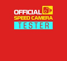 OFFICIAL SPEED CAMERA TESTER (6) Unisex T-Shirt