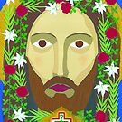Face of Christ by David Raber