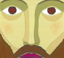Face of Christ Sticker