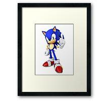 Modern Sonic Framed Print