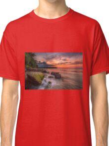Rocky Beach Sunset Classic T-Shirt