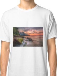 Rocky Beach Sunset Classic T-Shirt