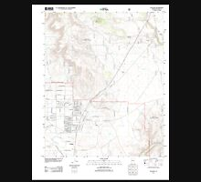 USGS TOPO Map Arizona AZ Paulden 20120521 TM Unisex T-Shirt
