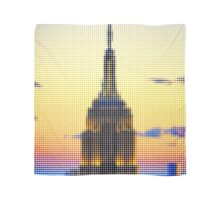 "PIXELS PRINT ""THE EMPIRE STATE BUILDING"" Scarf"