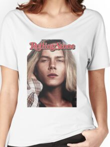River Phoenix (Rolling Stone Magazine) Women's Relaxed Fit T-Shirt