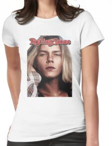 River Phoenix (Rolling Stone Magazine) Womens Fitted T-Shirt