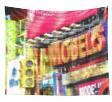 "Pixels Print ""TIMES SQUARE"" Wall Tapestry"