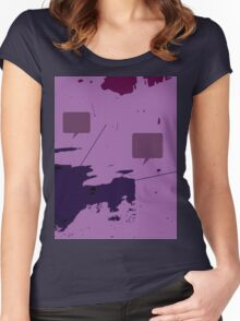 Abstract 2 Women's Fitted Scoop T-Shirt