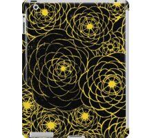 Yellow Spirals iPad Case/Skin