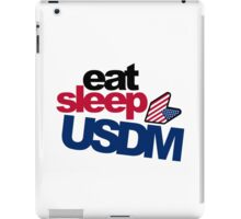 EAT SLEEP USDM (3) iPad Case/Skin