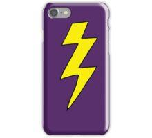 Scott Pilgrim VS the World - Lightning Bolt Shirt - Knives Chow iPhone Case/Skin