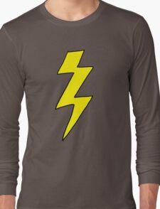 Scott Pilgrim VS the World - Lightning Bolt Shirt - Knives Chow Long Sleeve T-Shirt