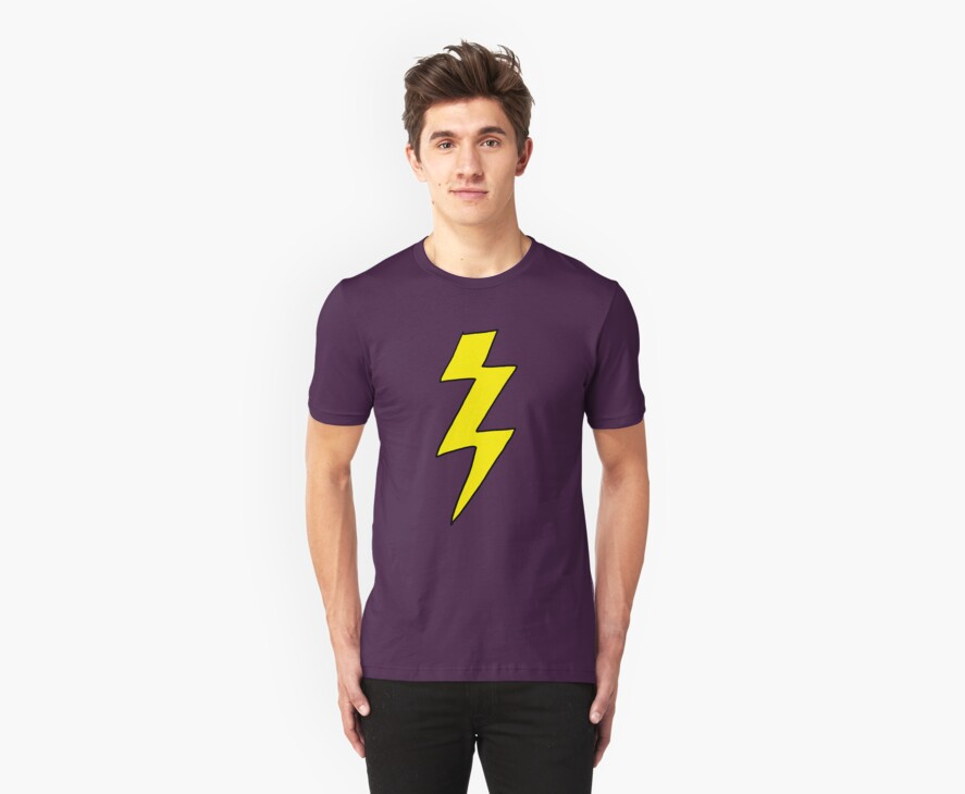 Scott Pilgrim VS the World - Lightning Bolt Shirt - Knives Chow by ptelling