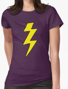 Scott Pilgrim VS the World - Lightning Bolt Shirt - Knives Chow Womens Fitted T-Shirt
