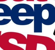 EAT SLEEP USDM (5) Sticker