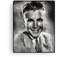Dick Powell Vintage Hollywood Actor Canvas Print