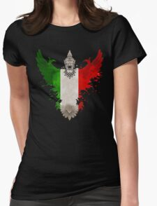 The Art Painting Of Italy Womens Fitted T-Shirt
