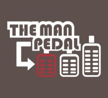 The Man Pedal (1) Baby Tee