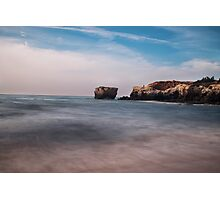 Rock Seascape Photographic Print