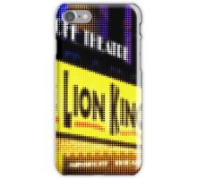 "Pixels Print ""THE LION KING"" iPhone Case/Skin"
