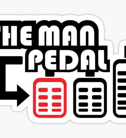The Man Pedal (2) Sticker